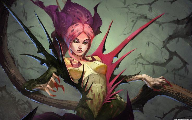 Atomic Era Poison Ivy