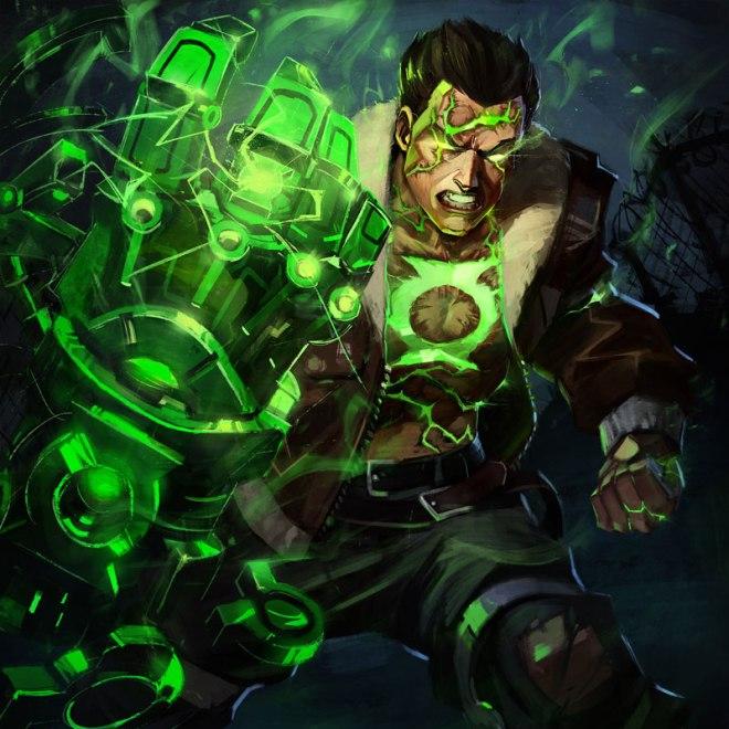 Atomic Era Green Lantern